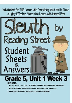 Sleuth Reading Street, Gr. 5, Unit 1 Wk 3, Island of the B