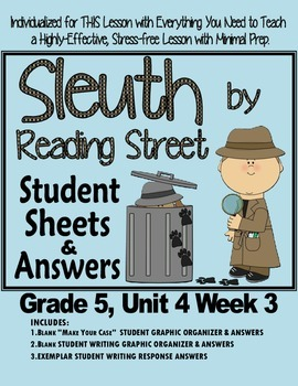 Sleuth Reading Street, Gr. 5 Unit 4 Wk 3, Exploding Ants