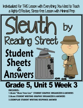 Sleuth Reading Street, Gr. 5 Unit 5 Wk 3, Talk with an Astronaut