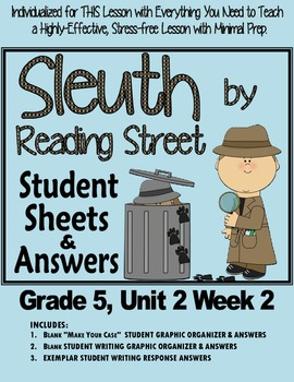 Sleuth Reading Street, Gr. 5 Unit 2 Wk 2 Hold the Flag Hig