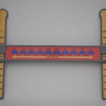 Slide-A-Round 10,000X Rounding Math Manipulative- Rounding