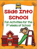 Back to School Activities for the 1st Weeks of School: Grades 2-4