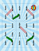 Slides and Ladders Multiplication File Folder Games~Superh