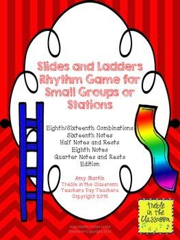 Slides and Ladders: Rhythm Reading Game Ti tika Edition (E