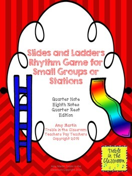 Slides and Ladders: Rhythm Reading and Performance Game Qu