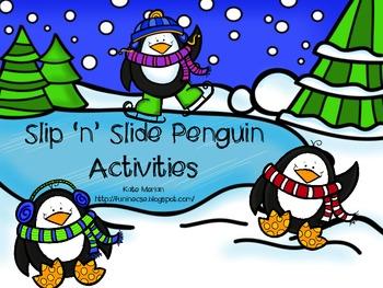 Slip 'n' Slide Penguin Activities