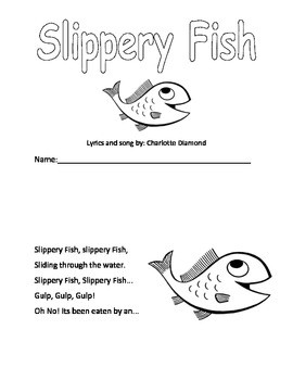 Slippery Fish Booklet