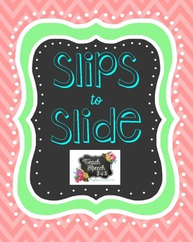 Slips To Slide: Receptive/Expressive Vocabulary Activity