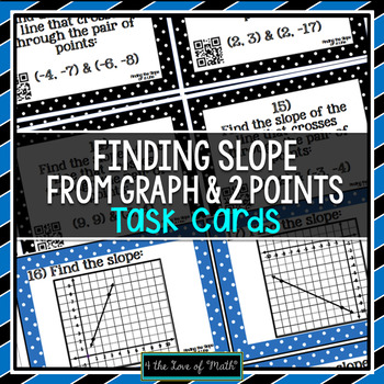 Slope: 30 Task Cards