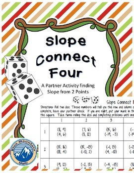 Slope Connect Four