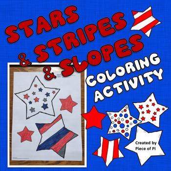 Slope Formula Coloring Activity