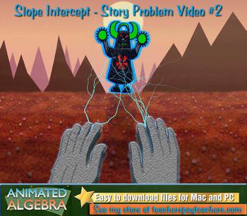 Slope Intercept - Story Problem Video 2