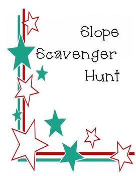 Slope Scavenger Hunt