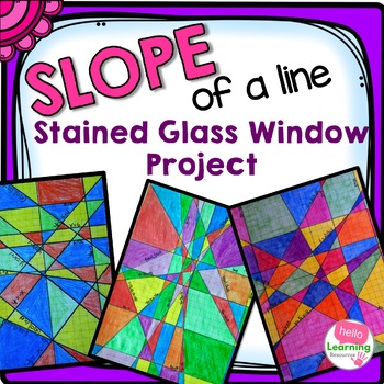 Slope Stained Glass Window Project