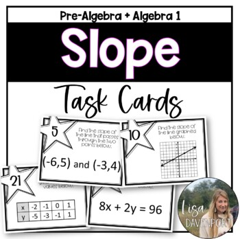 Slope (Task Cards)
