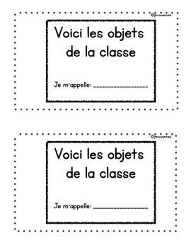 Small Book - Voici les objets de la classe