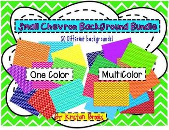 Small Chevron Background Bundle