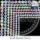 Small Diamonds Frames Clipart Bundle