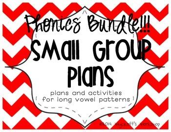 Small Group Bundle: Long Vowels