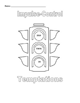 Small Group & Individual Counseling: Impulse Control Activ