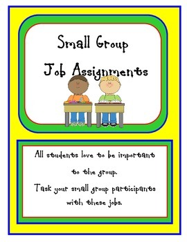 Small Group Jobs