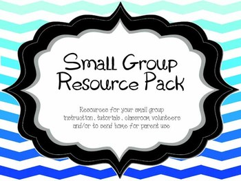 Small Group Resource Pack (Everything you need for volunte