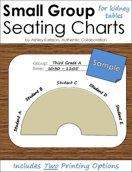 Small Group Seating Chart