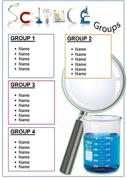 Small Groups Posters (11 by 17)