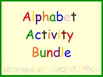 Smart Board Alphabet Activity Bundle