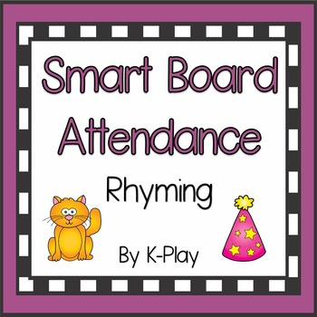 Smart Board Attendance - Rhyming