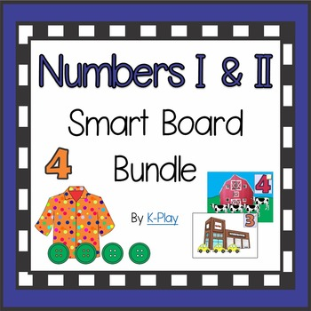 Smart Board Counting Numbers Bundle