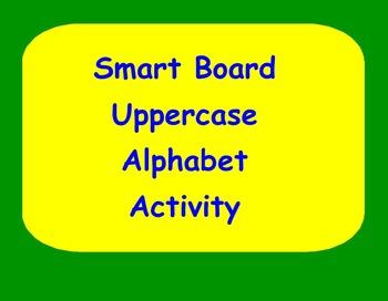 Smart Board Uppercase Handwriting Activity