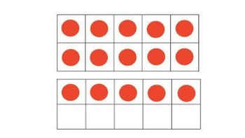 Smart Board numbers in the teens K.CC.3