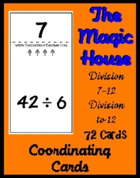 Smart Chute Style Cards - Dividing with 7 - 12 (thru multi