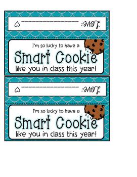 """""""Smart Cookie"""" Back-2-School Freebie!"""