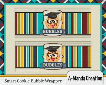 Smart Cookie Graduation printable bubble wrappers