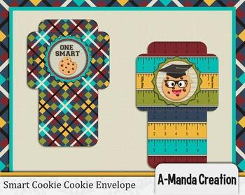 Smart Cookie Graduation printable cookie envelopes