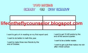 Smart Goals 16 page Smartboard Lesson
