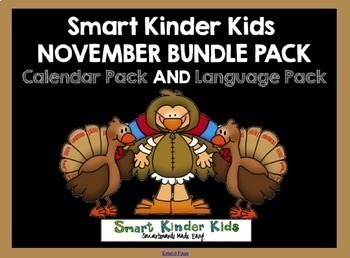 2016 Smart Kinder Kids BUNDLE - November Language & Calend