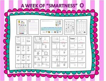 "Smart Lessons: A Week of ""Smartness""  Set #2 Nn-Zz"