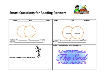 Smart Questions for Reading Partners