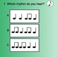 Smart Response Rhythm Quiz (Quarter note/Eighth notes)