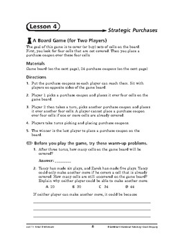 Smart Shopping Math: Retail & Wholesale-Strategic Purchases
