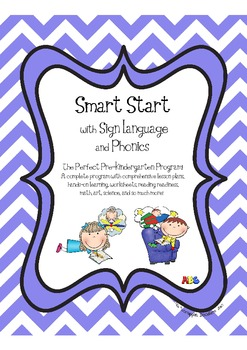 Smart Start Pre-K / Preschool with Sign Language and Phonics