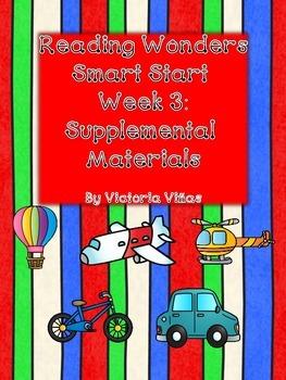 Smart Start Week Three Supplemental Material