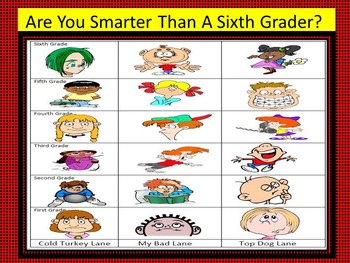Are You Smarter Than A Sixth Grader Cell Game