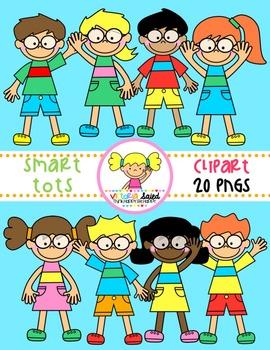 Smart Tots {Kids Clipart}