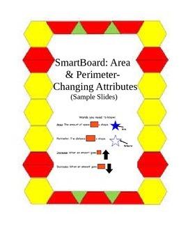 SmartBoard: Area & Perimeter- Change in Attributes