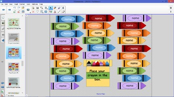 SmartBoard Attendance Pack (of 23)