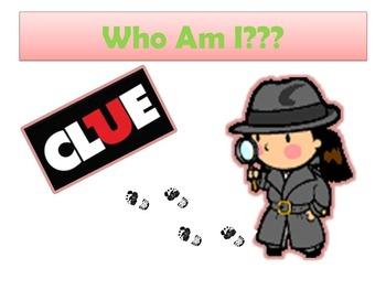 SmartBoard Clue Game:  7th Grade GA Milestone (editable ve